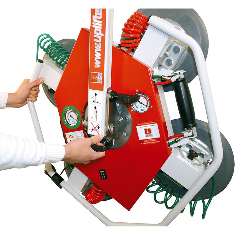 Uplifter Vakumsauger UPG 350 Glaselemente einfach transportieren und heben