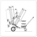 UPT250-Racelift-Technische Zeichnung Kippen