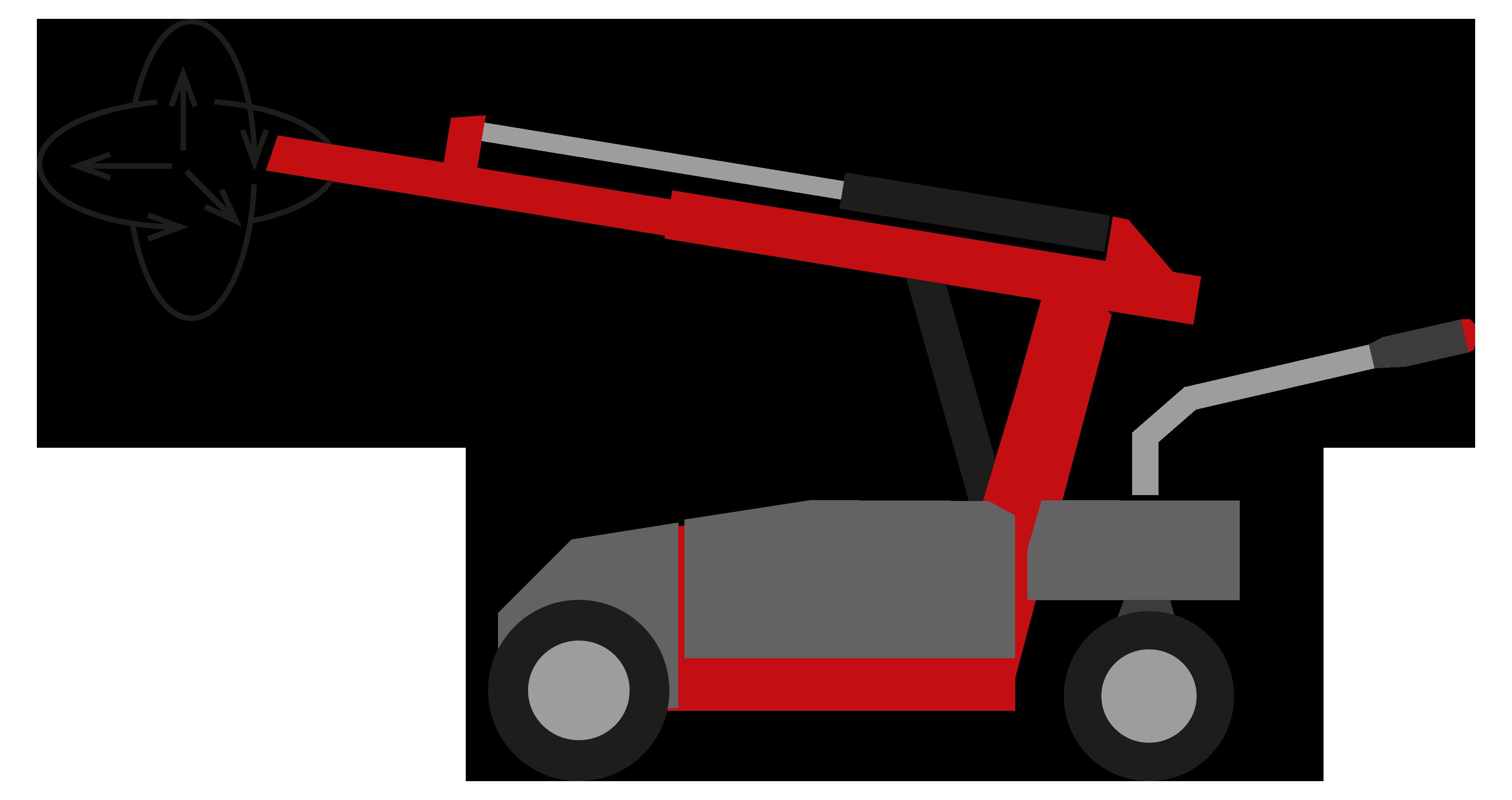 Industrie Manipulator horizontal, vertikal alle 3 Dimensionen